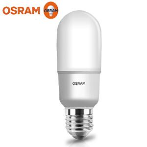 欧司朗(OSRAM)led灯泡 星亮T型9W 甜筒灯泡 4000K中性光  E27大口