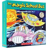 英文原版绘本 Magic School Bus 神奇校车12本盒装 儿童科普启蒙