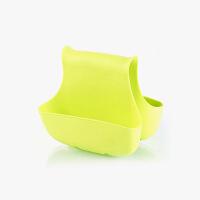 【任选3件4折,2件5折】当当优品 厨房水槽收纳沥水挂袋 马鞍式收纳挂篮 绿色