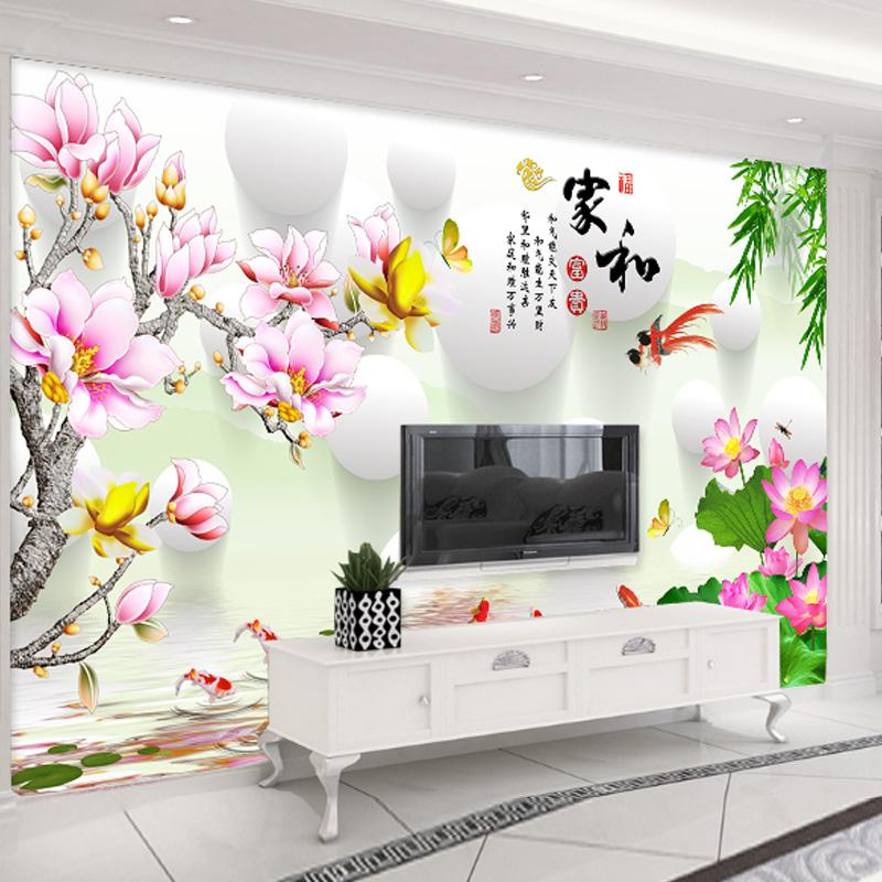 电视背景墙纸壁画 下单备注款式或联系客服