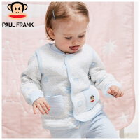 PWU1743067大嘴猴(paul frank)婴儿夹棉马甲婴童空气层背心1入装