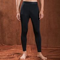 保暖裤男高腰秋季薄款护膝修身青年弹力打底内穿单件紧身棉裤
