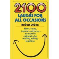 【预订】2100 Laughs for All Occasions