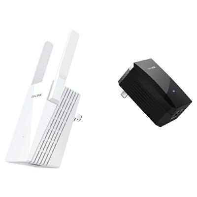 TP-LINK 电力猫无线路由器套装PA500&PA500W家用wifi穿墙iptv电力线ap一对 电力线传输,无线扩展,大面积覆盖!