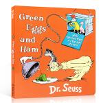 顺丰发货 英文原版绘本 Green Eggs & Ham 绿色鸡蛋和火腿 纸板翻翻书 Dr. Seuss苏斯博士 儿童