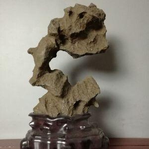 天然太湖石英德石原石文房案头摆件观赏奇石