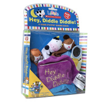 英文原版 Little Scholastic系列:Hey Diddle Diddle Hand Puppet 嘿,摇呀