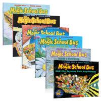 英文原版绘本 神奇校车 The Magic School Bus Inside a Beehive 等6本科普读物书