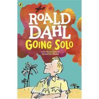 【现货】 英文原版 Going Solo 独闯天下 罗尔德达尔系列 假期读物 8-12岁适读 新版平装