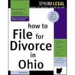 【预订】How to File for Divorce in Ohio, 3e