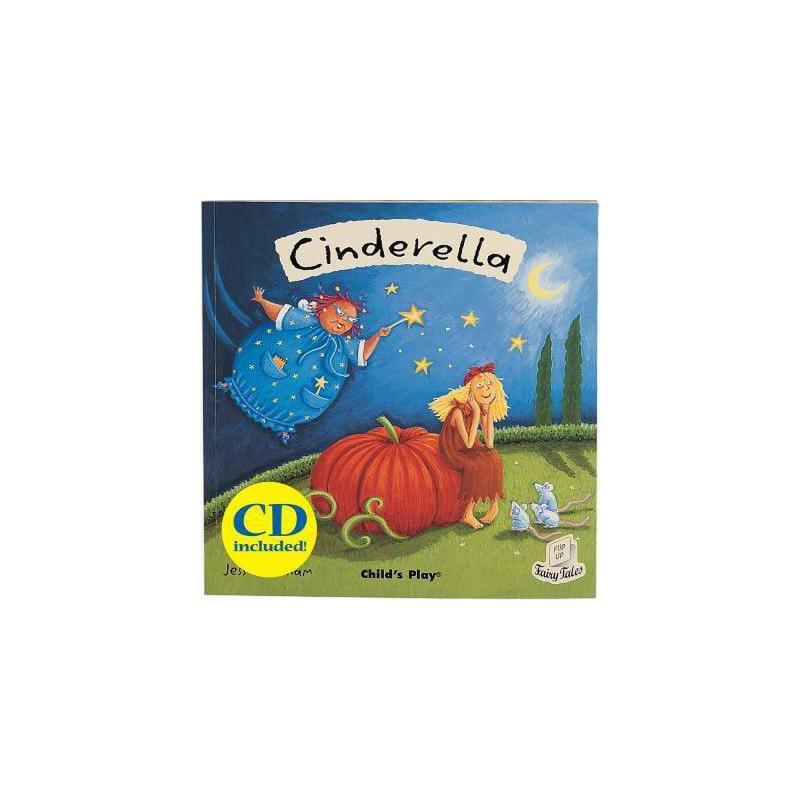 【预订】Cinderella [With CD] 美国库房发货,通常付款后3-5周到货!