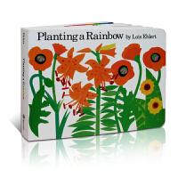 进口英文原版正版 Planting a Rainbow播种彩虹纸板书 Lois Ehlert 吴敏兰/廖彩杏推荐 英语