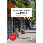【中商原版】马德里500个不为人知的秘密 英文原版 The 500 Hidden Secrets of Madrid