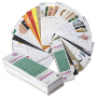 印刷工艺宝典 印刷工艺样例手册参照100个真实印刷工艺案例样式视觉图形图案色卡印谱书籍