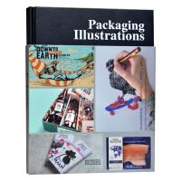 【包邮】包装插画 产品包装设计书籍 Packaging IIIustrations 广告绘画艺术画册 平面设计书籍