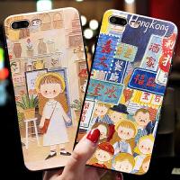 苹果6splus手机壳女款韩国潮牌iPhonex新款iPhone8plus软硅胶套7p个性创意6p挂绳8x带指环扣支架