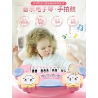 0--6岁婴儿充电可弹奏1-2周岁男儿童电子琴玩具