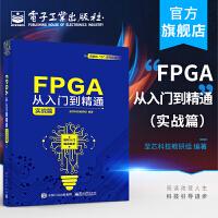 官方正版 FPGA从入门到精通:实战篇 至芯科技教研组 软件工具使用语法解释设计方法常用IP阻塞型过程赋值语句 电子技术