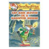 英文原版儿童书 Cat and Mouse in a Haunted House 老鼠记者3:幽灵屋中的猫鼠大战