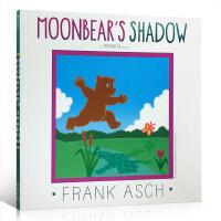 英文原版 Moonbear's Shadow儿童图画书 Frank Asch法兰克艾许 月亮小熊的故事系列 平装启蒙4