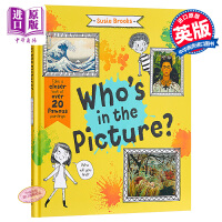 【中商原版】Susie Brooks:谁在图画里?Who's in the Picture? 精品绘本 寻找与发现 亲