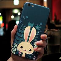 苹果8手机壳挂绳女款iphone6splus硅胶全包韩国潮牌7plus卡通可爱