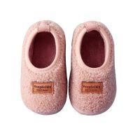 秋冬季1-3岁小孩儿童棉拖鞋女童包跟男童家居鞋室内保暖宝宝棉鞋