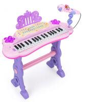 儿童电子琴女孩钢琴初学1-3-6岁 宝宝可弹奏琴键音乐玩具儿童玩具女孩益智女童1-3岁5男宝宝生日4周岁礼物公主礼品六一