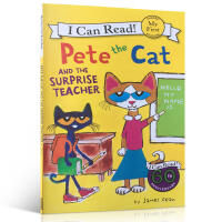英文原版 Pete the Cat皮特猫系列 James Dean经典绘本 Pete the Cat and the