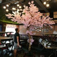 仿真樱花假桃树大型植物仿真樱花树仿真桃花树许愿树桃花客厅装饰SN9861