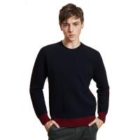 【网易严选 好货直降】意大利制造 双面拼色毛衣 2色可选