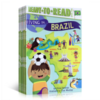 Ready to Read分级读物 Living in . . . Italy 系列6册套装 英文原版 China A