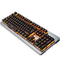 机械手感游戏键盘USB炫光家用台式笔记本键盘