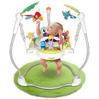 宝宝躺着玩的玩具蹦跳欢乐园 宝宝跳跳椅乐园弹跳健身器架婴儿玩具0-1岁3-6-12个月