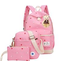 1-3-5-6年级女童旅游双肩包 韩版书包中小学生女6-12周岁儿童女孩