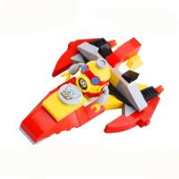 星钻积木赛尔号男孩子拼装玩具赛小息阿铁打飞船雷伊兼容乐高积木
