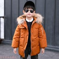 冬季童装儿童2018冬季新款棉衣外套男童加厚上衣韩版中大童冬装潮秋冬新款