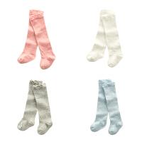 婴儿袜子春秋女宝宝长筒袜男小童过膝长袜新生儿四季高筒袜