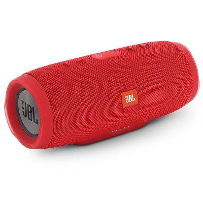 JBL Charge3 音乐冲击波3 魂动红 便携迷你音响 蓝牙小音箱 音响 低音炮用礼品卡购买JBL音响,上当当自营,防水设计!