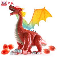 会走路儿童玩具套装下蛋恐龙玩具侏罗纪仿真动物模型