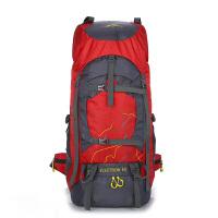 户外登山包双肩男60升大容量防水徒步旅游背包男旅行包女超轻 60L