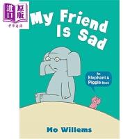 【中商原版】小猪小象系列 我的朋友有点伤心 Elephant