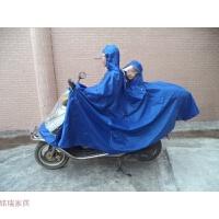 超大双人 摩托车雨衣 电动车雨披 么托男装大号大码加大两侧加长