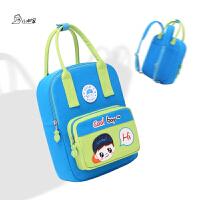 男女童小学生补习袋手提袋 幼儿园书包手拎包 儿童两用补习包书包