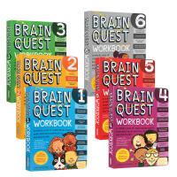 【全店300减100】英文原版 Brain Quest Workbook 美国小学全套1-6大脑任务练习册