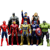20190701213623438复仇者联盟美国队长3钢铁侠灭霸绿巨人蜘蛛侠人偶玩具模型8款