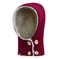 户外抓绒帽子冬加厚男女士保暖防风滑雪帽骑行头套运动帽
