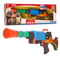 美高乐 熊出没 玩具枪 光头强机关枪 儿童电动声光玩具枪 MG216