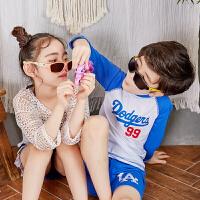 KK树儿童太阳镜男偏光儿童墨镜女宝宝眼镜潮男童女童眼镜个性小孩