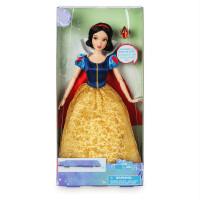 美人鱼 长发 白雪公主 美女与野兽 人偶娃娃玩具 新款(30厘米送支架与衣服)